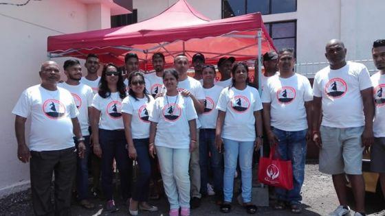 À Union-Park : 75 pintes de sang récoltées par une association