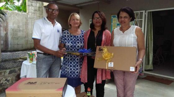 Projet CSR : le groupe Leal offre trois ordinateurs à Étoile d'Espérance