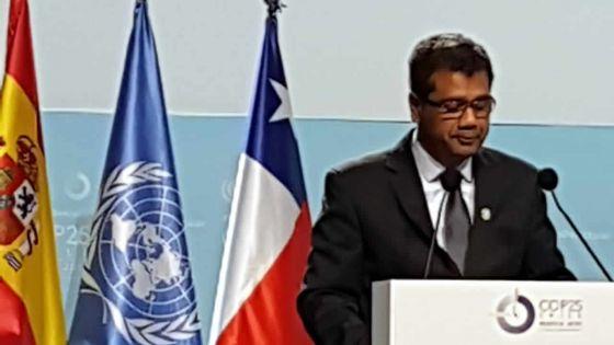 COP 25 -Kavy Ramano : «Il est grand temps d'allerau-delà des mots»