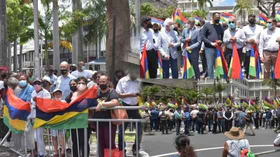 Port-Louis : Marche pacifique en mémoire de Soopramanien Kistnen