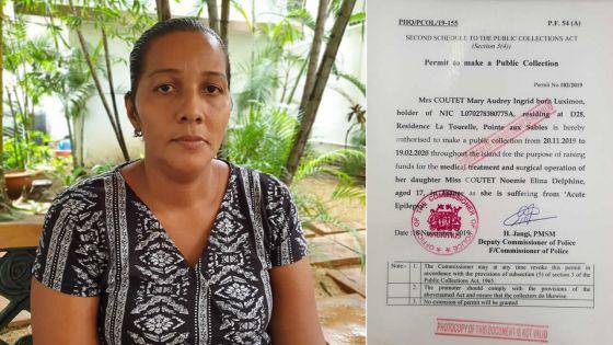Noémie, 17 ans, a besoin de Rs 600 000 pour se rendre en France