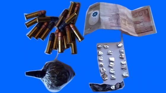 Résidence Barkly : des munitions, de la drogue synthétique et de l'héroïne saisies, deux suspects interpellés en flagrance