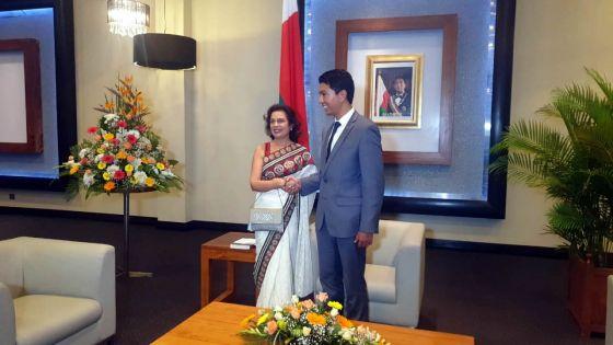 Visites de courtoisie au président malgache : l'entraide judiciaire et l'association parlementaire au centre des discussions
