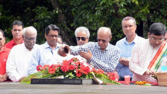 Navin Ramgoolam accuse le PM de vouloir«effacer l'indépendance»