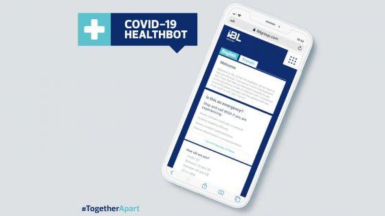 Lancement d'une interface vous aidant à savoir si vous présentez des symptômes du Covid-19