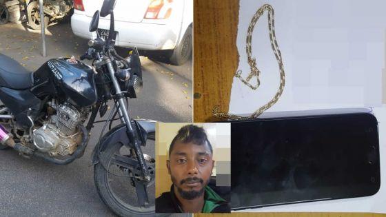 Dans le Nord et l'Est : il attaque un collégien, vole la moto de son frère et un coffre-fort