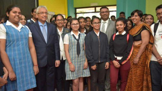 International Youth Day -Le PM : «Donnez-nous quelques années pour faire progresser Maurice»