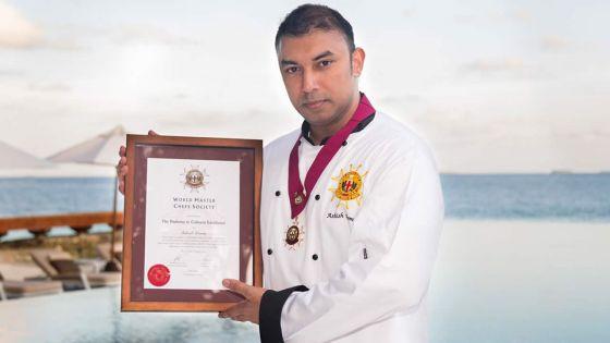 Ashish Domee : le premier chef mauricien reconnu par la World Master Chefs Society