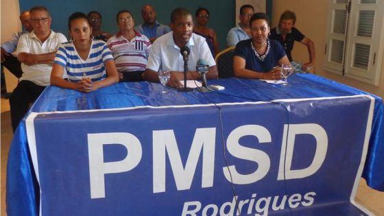 Les candidats du PMSD à Rodrigues satisfaits de leurs résultats aux élections