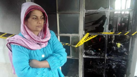 Maison complètement incendiée -Swalea : «Je dois redémarrer à zéro»