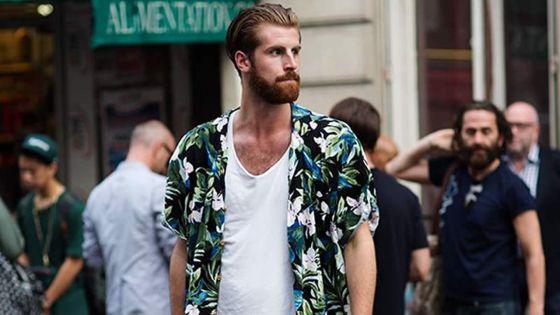 Homme - Chemise hawaïenne : le must de l'été