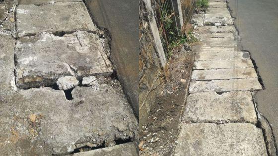 À Beau-Bassin : des drains nettoyés laissent place à des trous béants