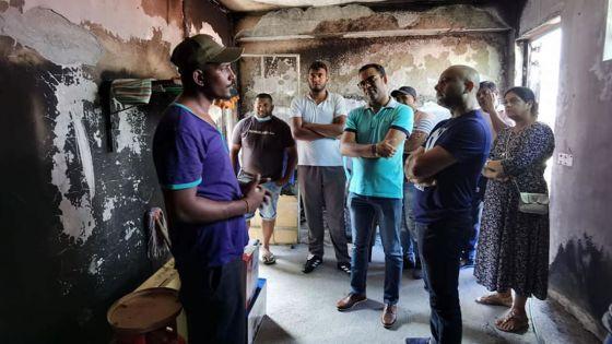 Après l'incendie de leur maison : une famille peine toujours à se reconstruire