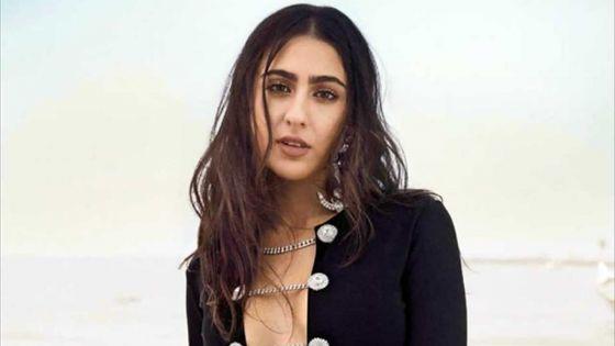 Sara Ali Khanblessée par les réactionsdes internautes