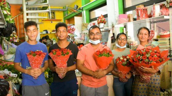 Saint-Valentin : des roses pour semer l'amour dans les cœurs