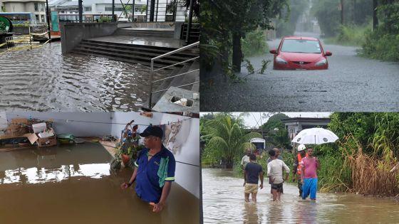 Mauvais temps : Maurice sous des pluies diluviennes