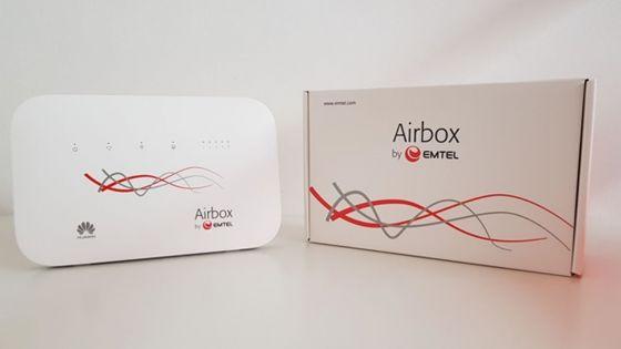 Internet : l'airbox d'Emtel passe à 1 TeraByte par mois