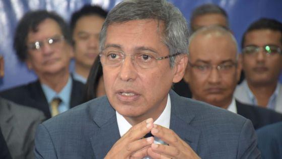 Xavier-Luc Duval sur la dépossession des terres : «Le GM devra investir massivement, car il y aura des cas difficiles»