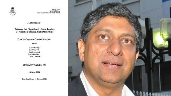 Privy Council : Betamax remporte son procès en appel, l'Etat devra lui verser Rs 4,7 milliards