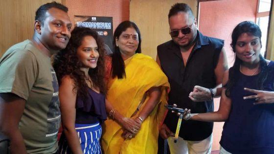 « Selfie » : trois chanteurs mauriciens dans une production indienne