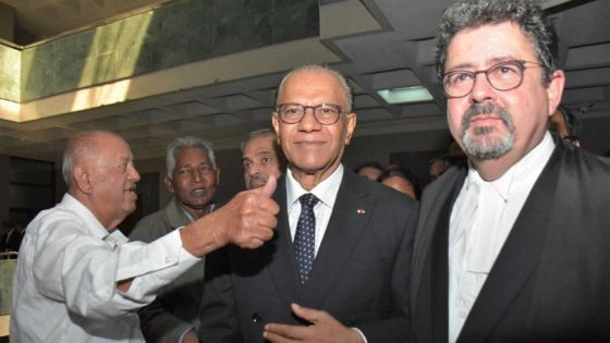 Affaire Roches-Noires : «No case to answer» contre Navin Ramgoolam