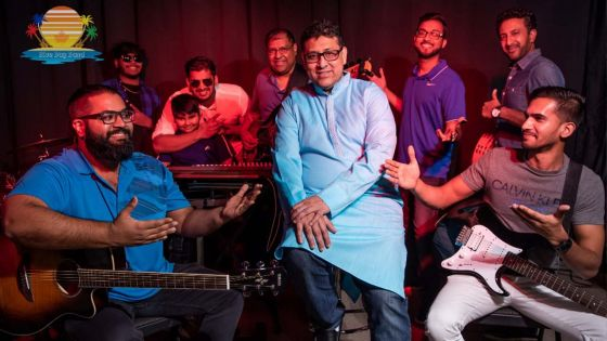 Blue Bay Band : du Canada, ils chantent Maurice