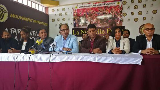 Alan Ganoo, du Mouvement Patriotique : «Un membre de l'opposition comme Deputy Speaker...»