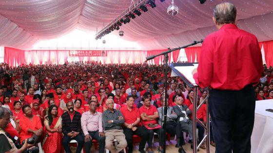 Congrès du PTr à Phoenix -Ramgoolam : «Si Pravind Jugnauth prop, mwa mo Napoléon»