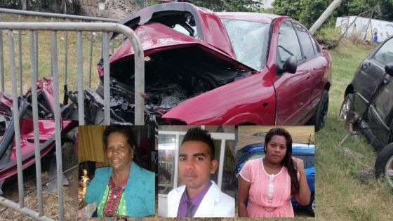 Trois morts dans un accident à Plaine-des-Roches : la famille Heeramun perd une mère, un fils et une bru