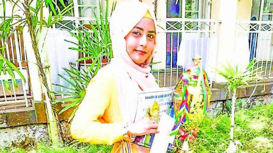 Amreen Ahmed, lauréate du Championnat de peinture : l'art et la manière