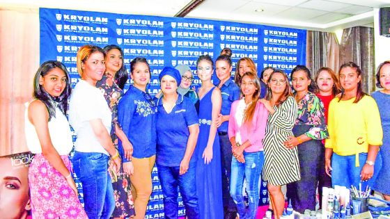 Workshop au Palm Hotel :Flash sur les maquillages artistiques des catwalks sud-africains