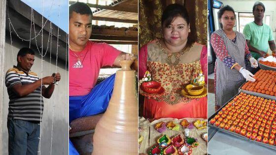 Fête ce samedi : les artisans de Divali
