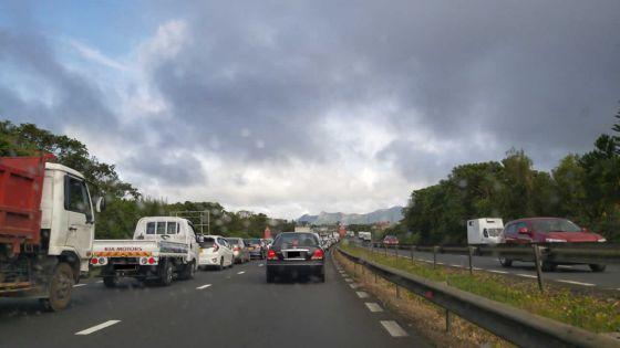 Trafic routier : embouteillagessur le plateau central