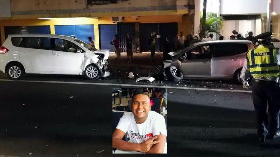 Collision à Beau-Bassin :Dervin Mootoosamy,19ans, passionné d'automobile, meurt dans un accident