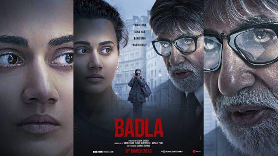 La bande-annonce de «Badla» (Amitabh Bachchan-Taapsee Pannu) bien accueillie