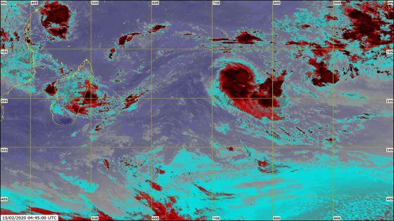 Météo : la tempête tropicale modérée baptisée Gabekile