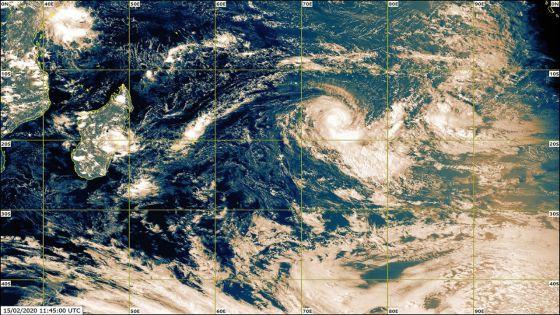 Météo : Gabekilé intensifiée en forte tempête tropicale à 1 745 km de Maurice