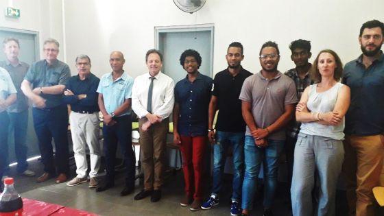 Lycée Polytechnique Sir Guy Forget : 3 étudiants en stage à l'île de La Réunion