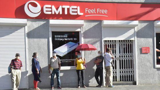 Déconfinement partiel : huit showrooms d'Emtel ouverts du lundi au samedi