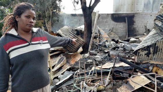 Un incendie ravage trois maisons à Quatre-Bornes : la famille Phillippe à la rue après avoir tout perdu