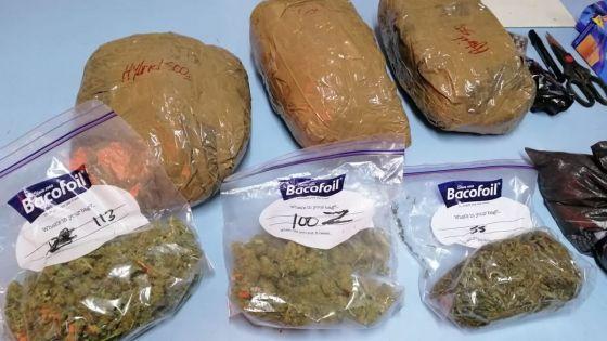Pointe-aux-Biches : deux kilos de cannabis saisis sur Axel Crétin
