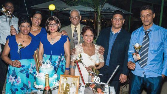Noces de diamant : Emmanuel et Elsie Arayo 60 ans de bonheur d'être ensemble