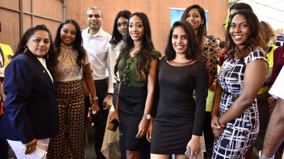 Centre-de-Flacq : les candidates de Miss Universe Mauritius participent à la Women's Health Day