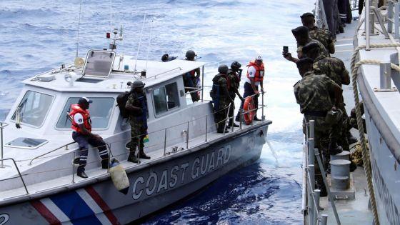 Opération Cutlass Express : les forces maritimesde la région en action