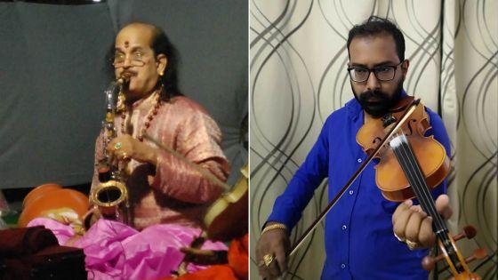 Concert à l'Alliance Française, Bell-Village :Sharvan Boyjoonauth rend hommage au Dr Kadri Gopalnath