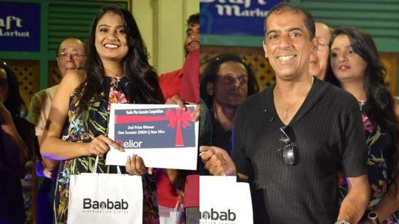 Karaoké : Roshni Domah et Hans Louis sont les grands gagnants