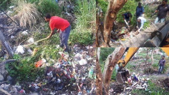Campagne de nettoyage : Résidence La Cure et Vallée-des-Prêtres prises d'assaut