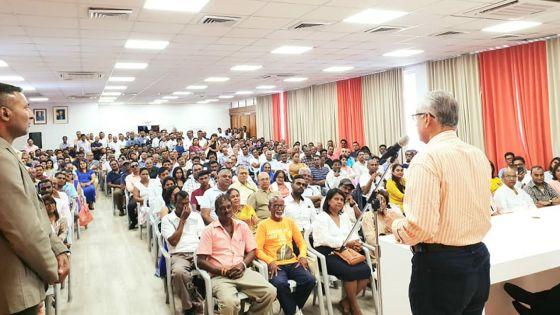 Message du Premier ministre à ses troupes - Pravind Jugnauth : «Ne faites rien qui pourrait nuire à l'image du pays»