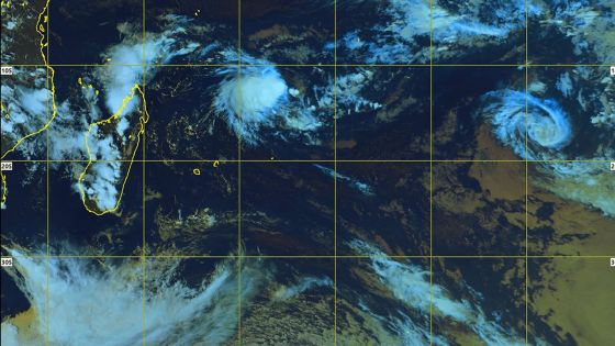 Météo : à 1 140 km de Maurice, la perturbation tropicale intensifiée en dépression tropicale