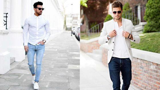 Homme : comment porter du blanc
